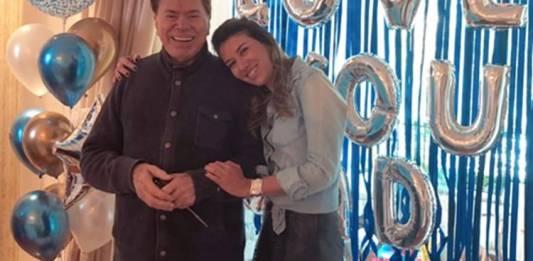 Silvio Santos e Rebeca Abravanel/Instagram