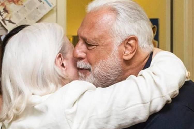 Antonio Fagundes homenageia Fernanda Montenegro no aniversário de 91 anos da atriz