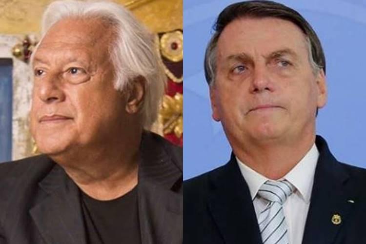 """Antonio Fagundes dispara sobre artistas que trabalham para o governo Bolsonaro: """"Não é uma novela, é um circo"""""""