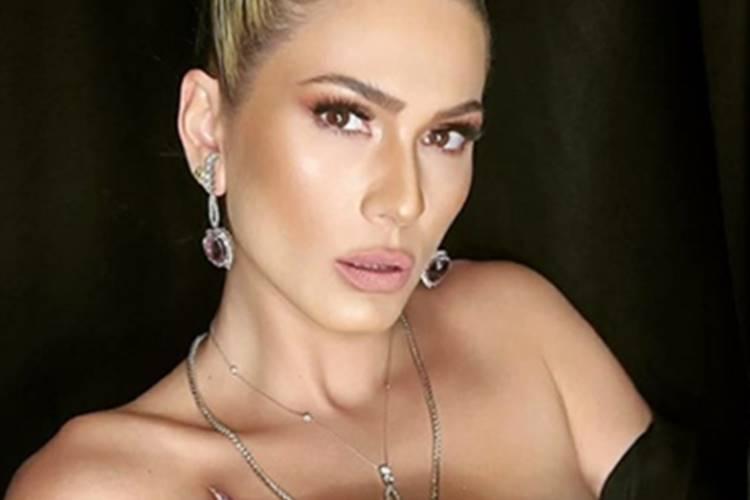 Após polêmicas envolvendo seu atual namorado Marcos Araújo, Lívia Andrade publica nota de repúdio