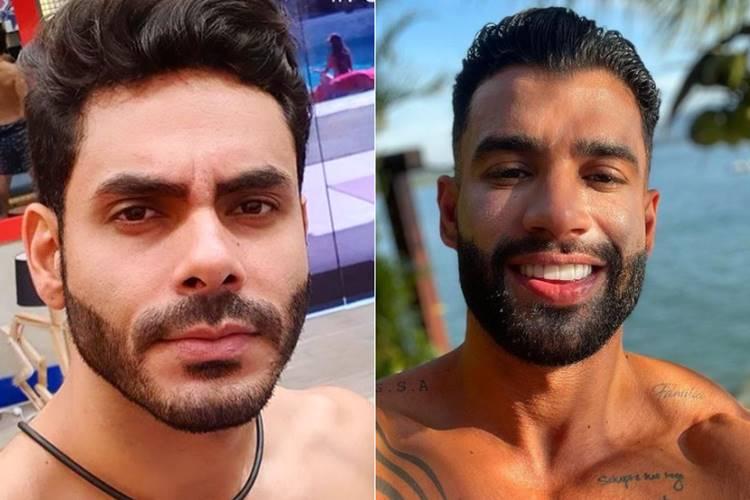 """Clique antigo de Rodolffo, do """"BBB21"""" e Gusttavo Lima viraliza nas redes sociais"""