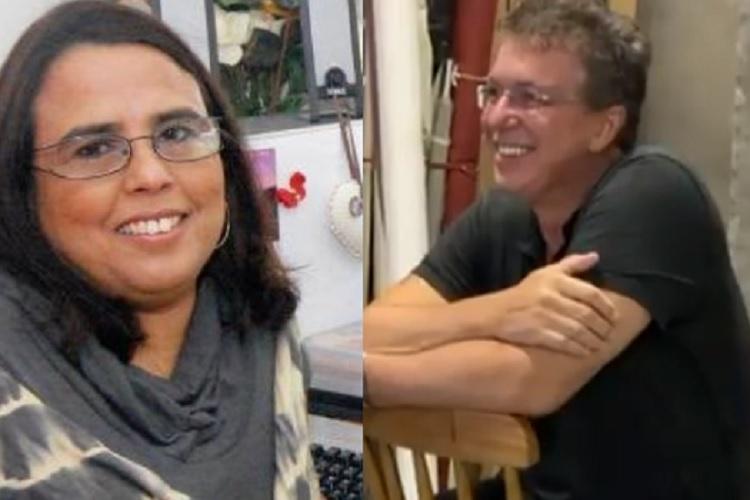 """Imagem: Susan Melo, do blog """"De Cara Pra Lua"""" e Boninho (Reprodução/Instagram)"""