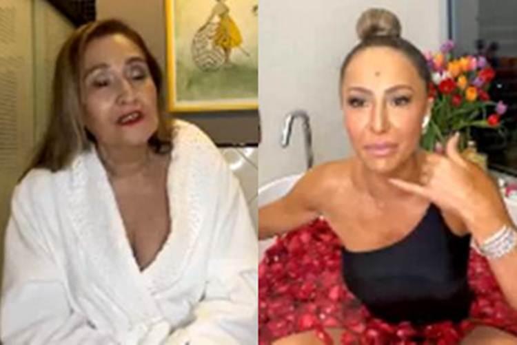 """Em papo com Sabrina Sato, Sonia Abrão fala de preconceito na carreira: """"Sofri muito"""""""